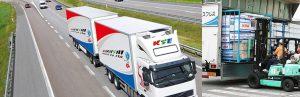 We offer modern moving trucks for transport of your belongings