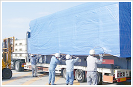 Heavy weight cargo requires special know-how and experience for road transport
