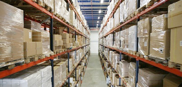 We provide you with warehousing services