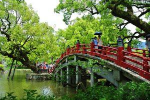 Fukuoka is on the island of Kyushu