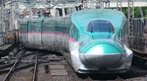 The Shinkansen or bullet train can help you explore the country in your free time
