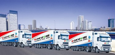 Our inland transport forwards your cargo anywhere