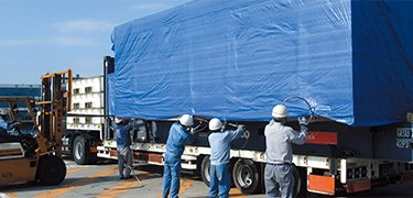 If you need to forward your super heavy cargo, Kokusai Express Japan offers you help!