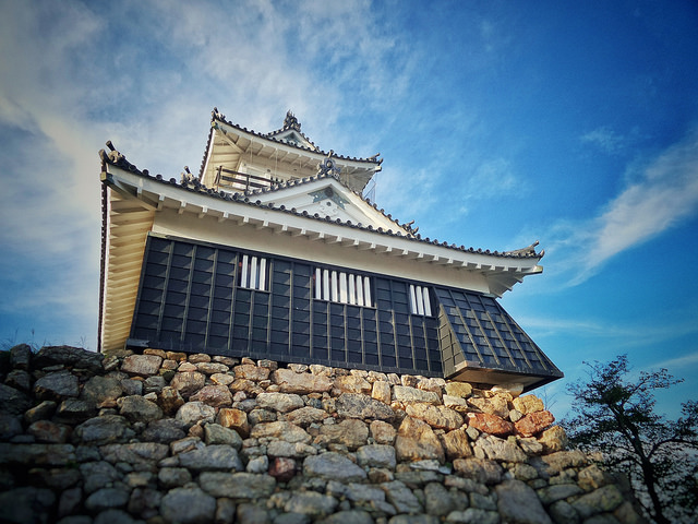 Hamamatsu Castle - one of the many views to explore after moving to Hamamatsu.