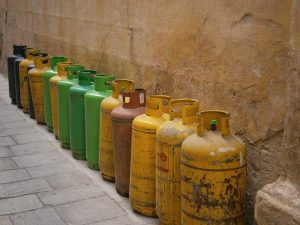 Gas bottle - restrictions in air cargo shipments