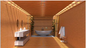Special bathroom could bring a bit of Japan into your home
