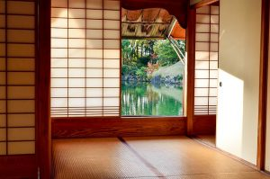 Sliding doors are very common in Japan and could bring a bit of Japan into your home