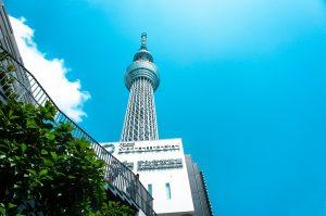 Sky Tree in Tokyo