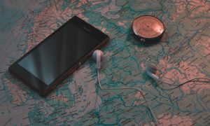 A phone - which can use GPS which you will use to track your cargo.