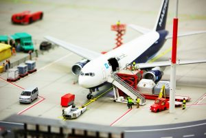 a model of a plane