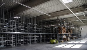 Use vertical space to improve warehouse operations.
