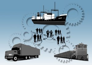Logistics is a big part of the shipping process.
