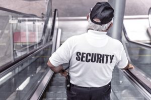 Guards can catch criminals in the act.