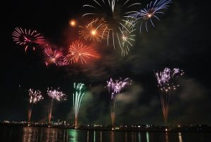 Fireworks as one of the best things to do in summer in Japan