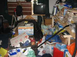 Get rid of some things before storing your belongings when moving overseas.