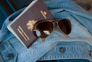 A passport is one of the documents required for an international move.
