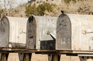 Redirect your mail before moving from Japan to USA.