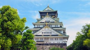 Osaka Castle. Osaka is one of the family-friendly cities in Japan.