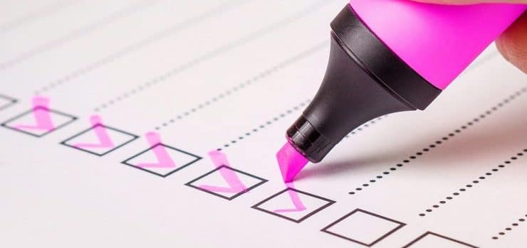 A checklist - we offer many other shipping services other than international air freight forwarders
