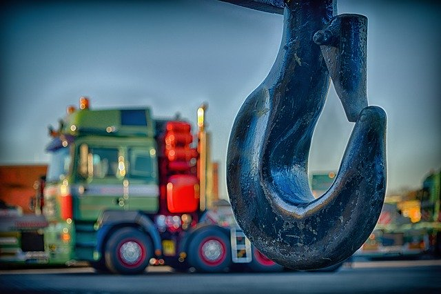 A hook for Heavy lift cargo handling