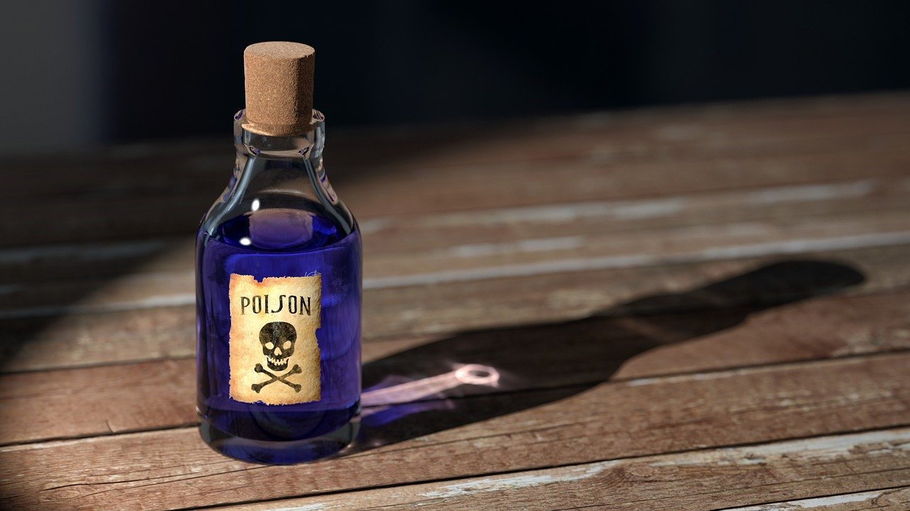 Poison that is on the list of items your international movers won't move