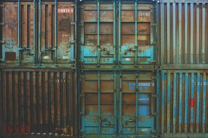 Containers with rust