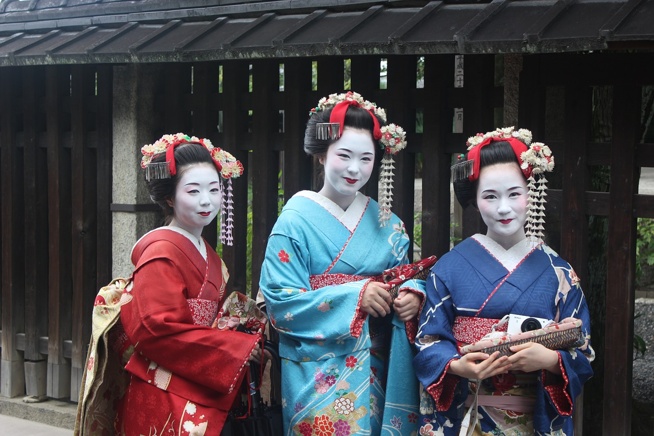 Geisha is one of the things you will learn about if want to adapt to your new neighborhood after moving