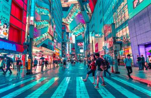 finding your dream job in Japan to walk the street of Tokyo
