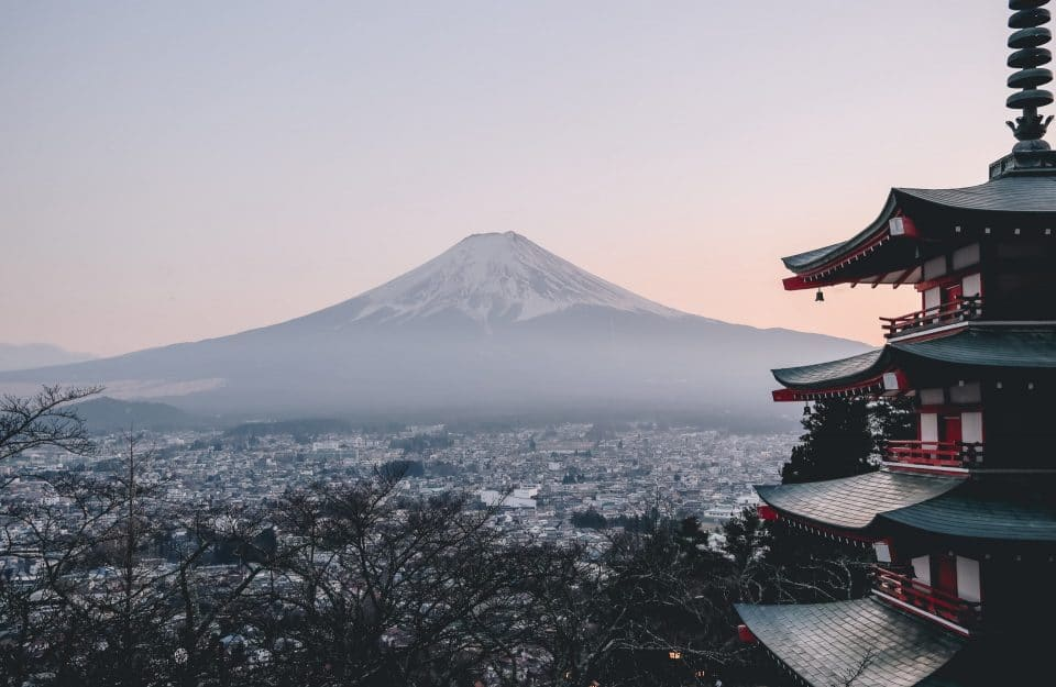 Landscape in Japan that show how living in Japan as an expat is not bad