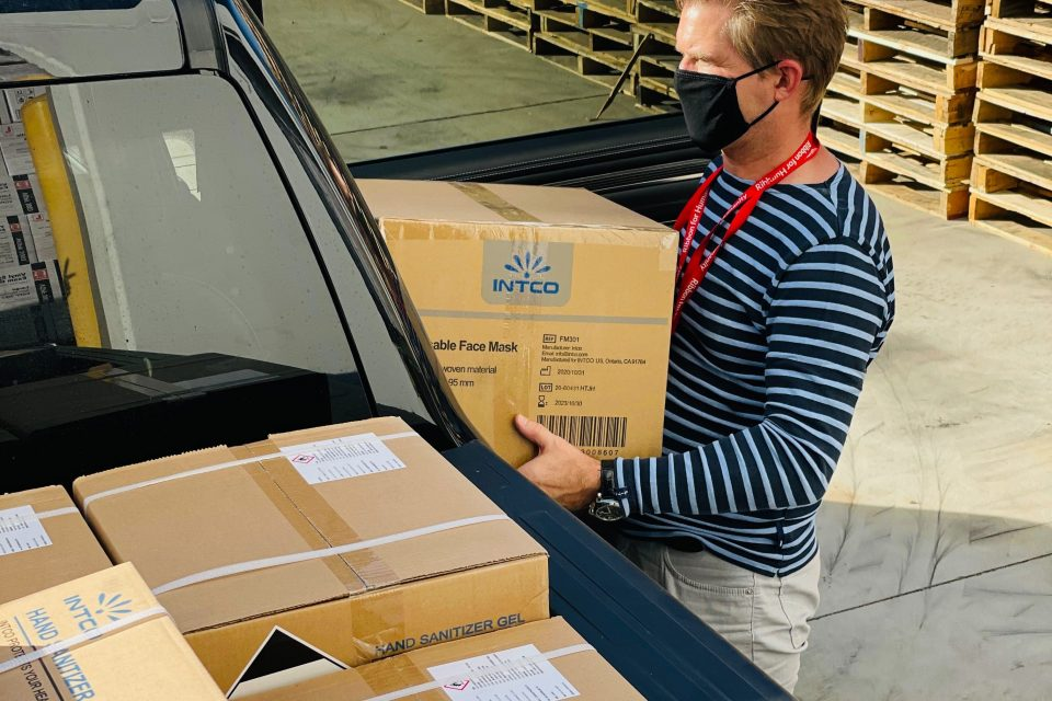 Ensure packages safety during transport