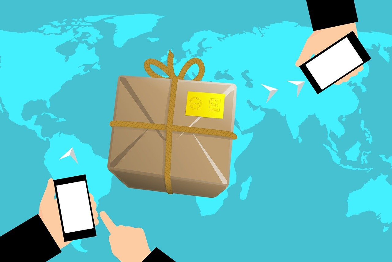 Logistics professionals are in charge for shipping worldwide.