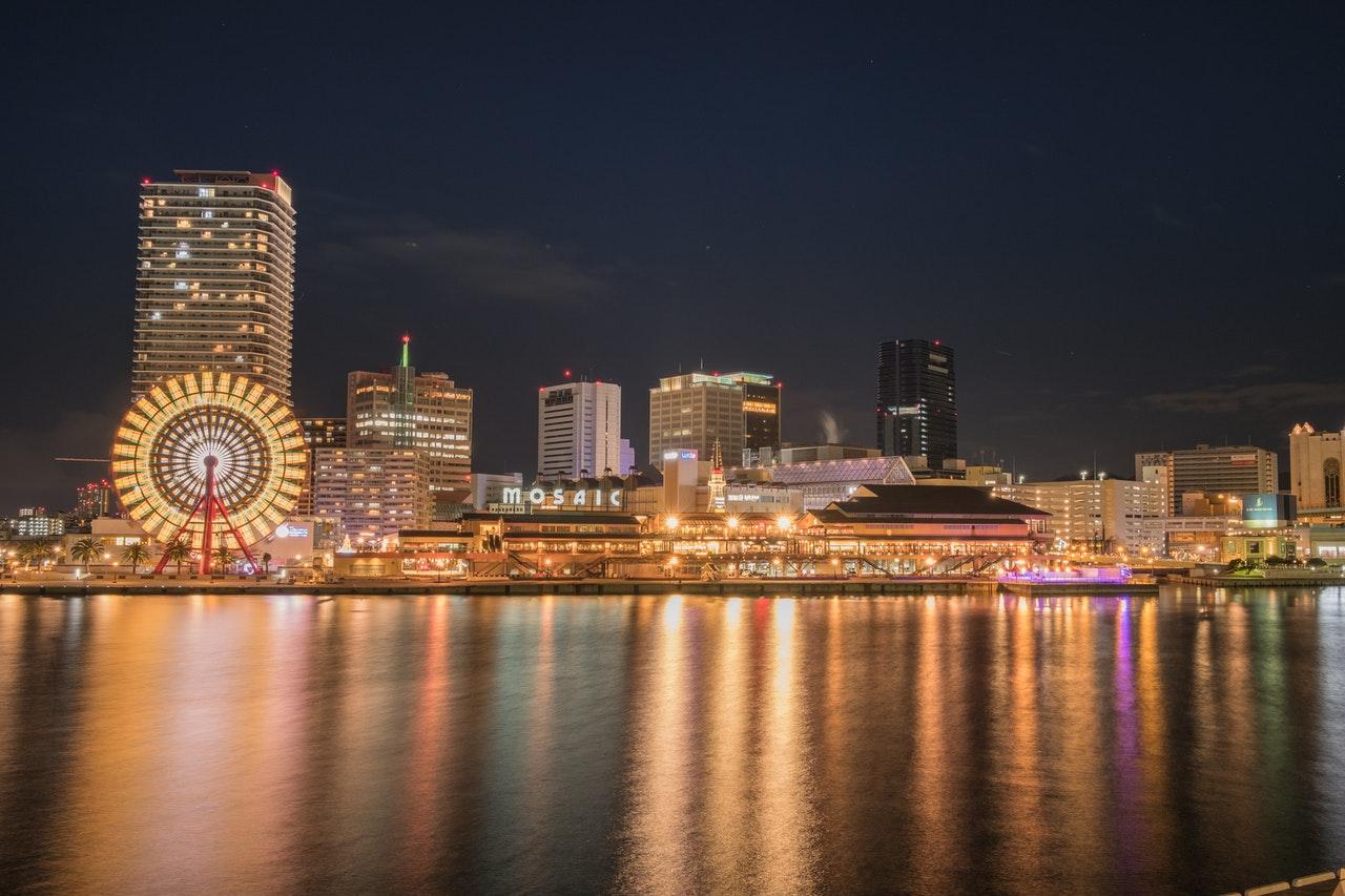 Osaka city waterfront